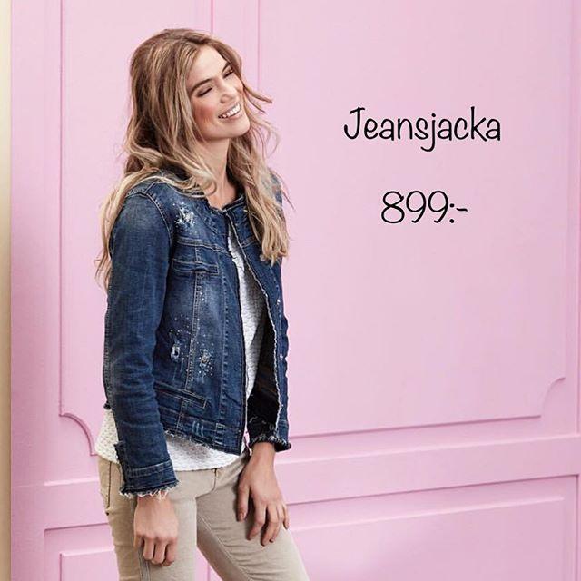Nyinkommen Jeansjacka från @2biz #jeansjacket #jeansjacka #fashion #fashionstore #gothenburg #tintino #tintinofashion #news #vårnyheter