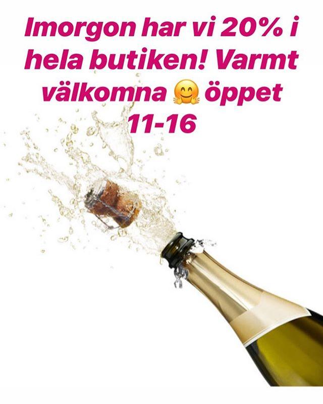 Missa inte! Imorgon lördag har Tin Tino hela 20% i butiken! Öppet 11-16 varmt välkomna!
